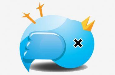 Twitter in declino